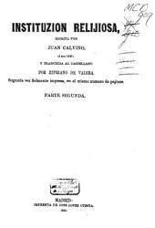 Instituzión relijiosa: Volumen 2