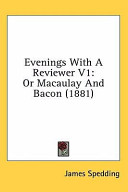 Evenings With A Reviewer V1