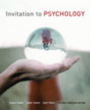 Invitation to Psychology  Second Canadian Edtion