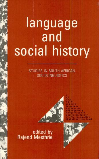 Language and Social History PDF
