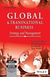 Global And Transnational Business  Strategy And Management  2Nd Ed PDF