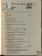 UV Spectrometry Group Bulletin PDF