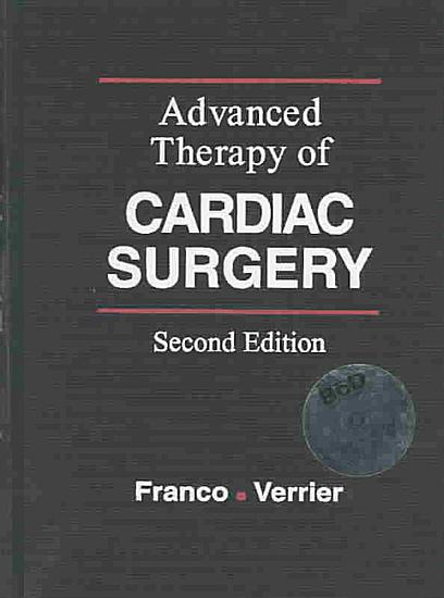 Advanced Therapy in Cardiac Surgery PDF
