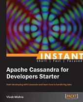 Instant Apache Cassandra for Developers Starter