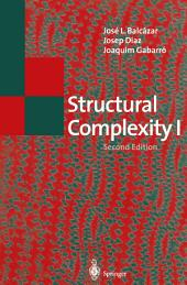 Structural Complexity I: Edition 2