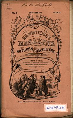 Mrs  Whittelsey s Magazine for Mothers and Daughters
