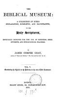 The biblical museum PDF