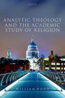 Analytic Theology and the Academic Study of Religion PDF