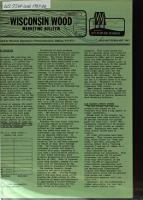 Wisconsin Wood Marketing Bulletin PDF