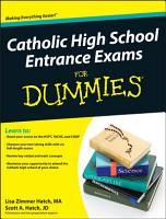 Catholic High School Entrance Exams For Dummies PDF