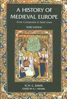 A History of Medieval Europe PDF