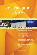 Java Management Extensions Standard Requirements PDF