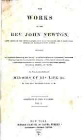 The Works of the Rev. John Newton: Volume 1
