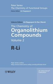 The Chemistry of Organolithium Compounds: R-Li