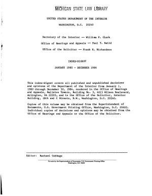 Index digest PDF