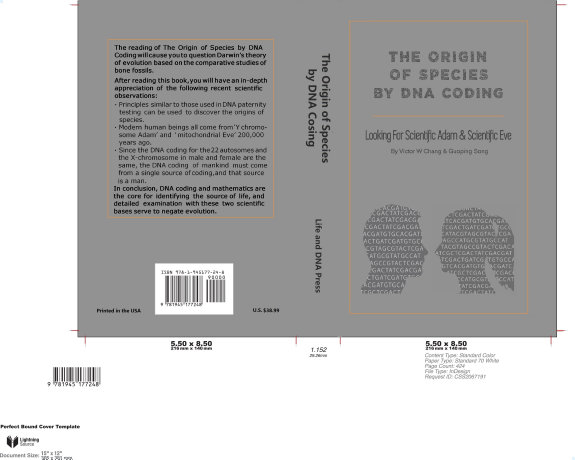 The Origin Of Species By Dna Coding