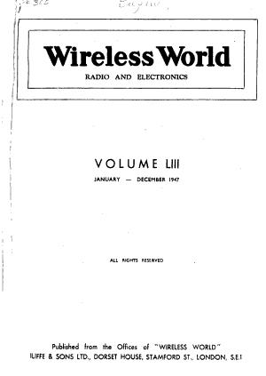 Wireless World PDF