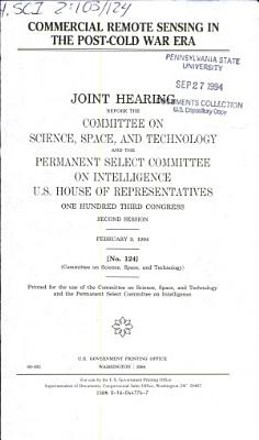 Commercial Remote Sensing in the Post cold War Era
