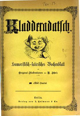Kladderadatsch Berlin PDF
