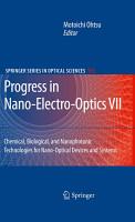 Progress in Nano Electro Optics VII PDF