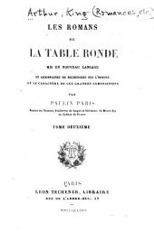 Les romans de la Table ronde: Volume 2
