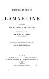 Poésies inédites de Lamartine