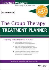 The Group Therapy Treatment Planner, with DSM-5 Updates: Edition 3