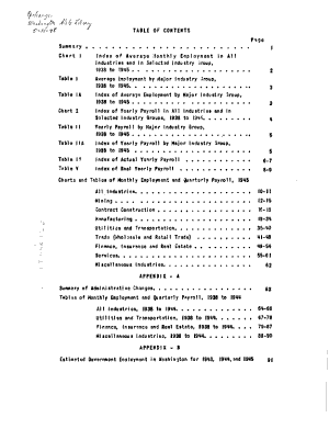 Employment and Payrolls in Washington State PDF