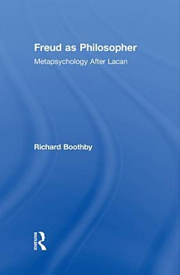 Freud as Philosopher PDF