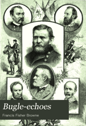 Bugle-echoes: A Collection of Poems of the Civil War, Northern and Southern