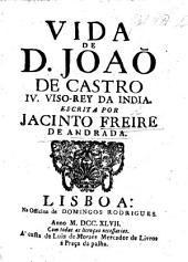 Vida de Dom João de Castro, Quarto Visorey da India