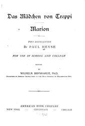Das m砤chen von Treppi; Marion