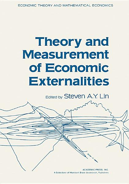 Download Theory and Measurement of Economic Externalities Book