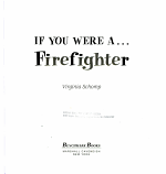 If You Were A   Firefighter PDF