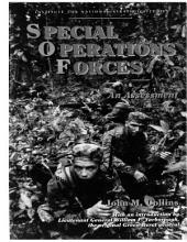 Special Operations Forces: An Assessment