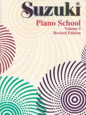 Suzuki Piano School - Volume 5 (Revised): Piano Part