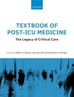 Textbook of Post ICU Medicine PDF