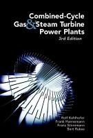 Combined Cycle Gas   Steam Turbine Power Plants PDF