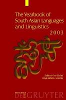 The Yearbook of South Asian Languages and Linguistics 2003 PDF