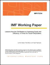 Lessons from the Old Masters on Assessing Equity and Efficiency: A Primer for Fiscal Policymakers