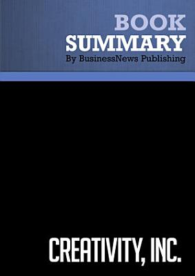 Summary  Creativity  Inc