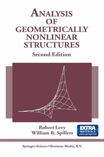 Analysis of Geometrically Nonlinear Structures PDF