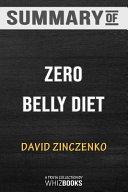 Summary of Zero Belly Diet PDF