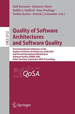 Quality of Software Architectures and Software Quality PDF
