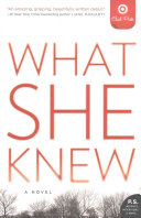 What She Knew   Target Edition Book