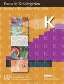 Focus in Kindergarten PDF