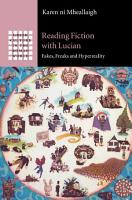 Reading Fiction with Lucian PDF