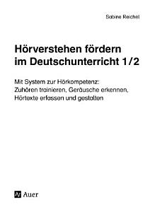 H  rverstehen f  rdern im Deutschunterricht 1 2 PDF
