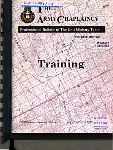 The Army Chaplaincy PDF