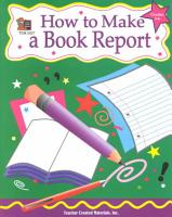 How to Make a Book Report PDF